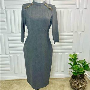 - Zara 3/4 long sleeves dress
